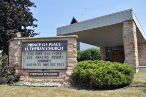Prince of Peace Lutheran Church in Burlington, Ontario